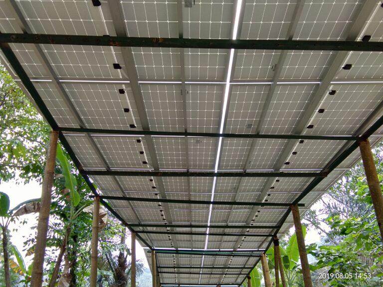 Ecolodge, Mbeliling, Solar Power Indonesia