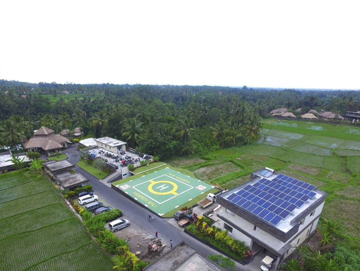 Viceroy, on grid solar power indonesia