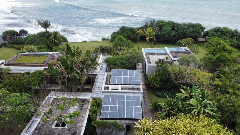 Villa Tantangan, Bali, Solar Power Indonesia