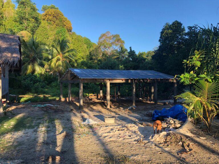 Villa Mentawai, solar power indonesia