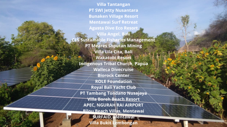 Solar Power Indonesia Customers5